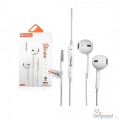 Fone De Ouvido P2 Estereo Com Microfone E Vol Pmcell Fo15